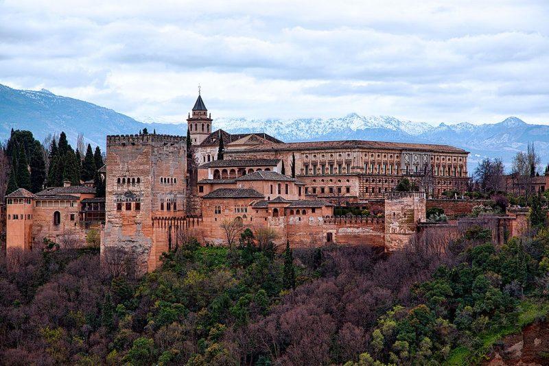 Granada - Espanha no Inverno