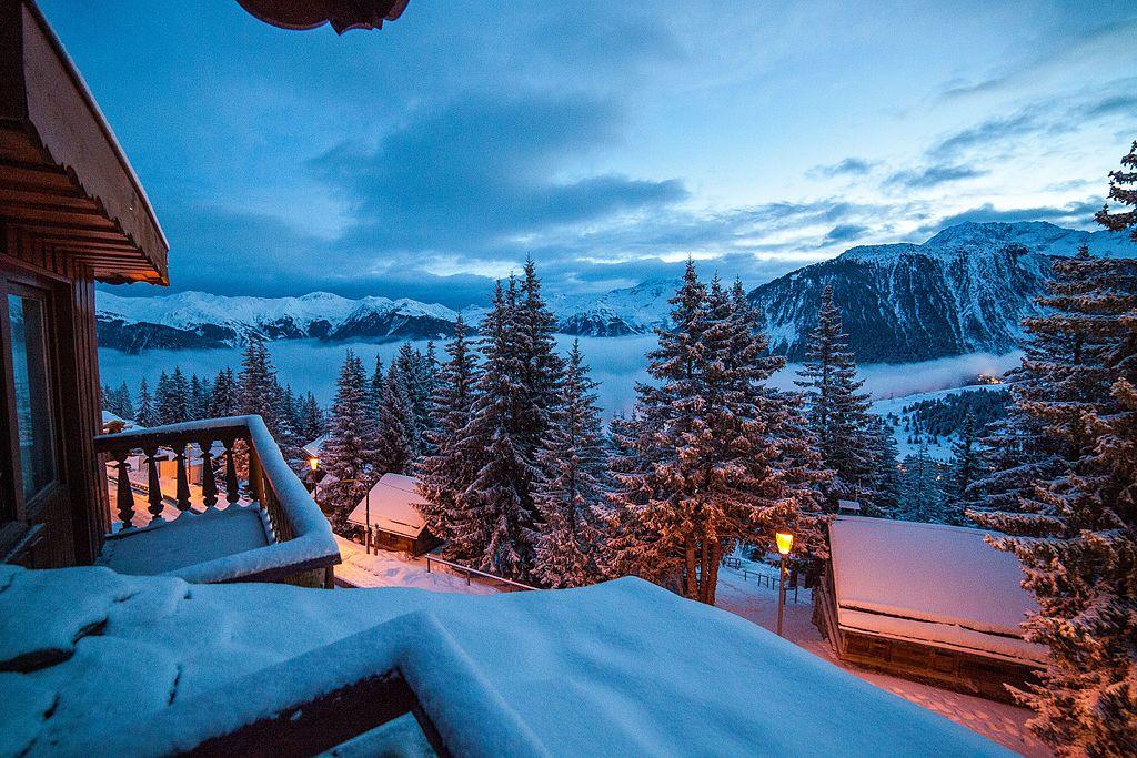 Courchevel - França no Inverno