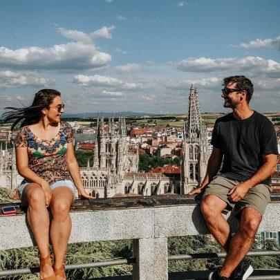 Vista de Burgos na Espanha